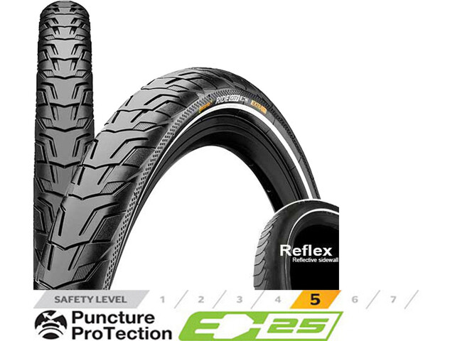 "Continental RIDE City Pneu 26"" E-25 Reflex"